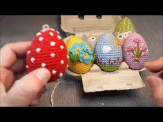 Easter Crochet, Cute Crochet, Knit Crochet, Crafts Beautiful, Freeform Crochet, Crochet Videos, Crochet Gifts, Easter Crafts, Easter Eggs