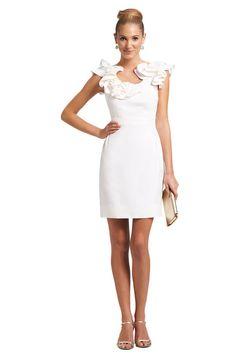 kirribilla dahlia lwd little white dress