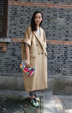 oversize-street-style-china-fashion-week-fw14-_ (2) | Blog | WGSN
