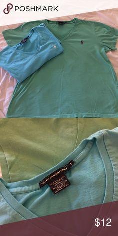 Soft Women's RALPH LAUREN T's TWO Comfy Ralph Lauren Sport T's gently loved💕No rips no stains Ralph Lauren Tops Tees - Short Sleeve