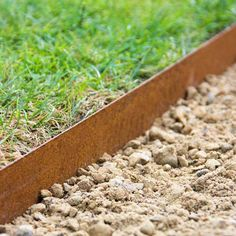 Details about Garden Lawn Edging / Metal Border Edging Multi Edge x - Corten piece Colour