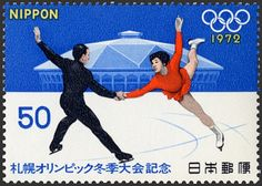 Winter Olympics 1972 in Sapporo, Japan