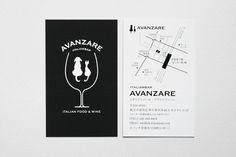 AVANZARE_Shop_Identity by masaomi fujita, via Behance