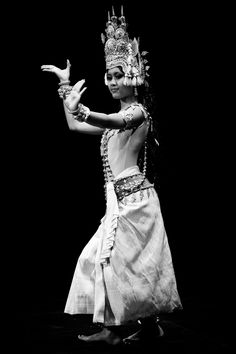 A dancer from Cambodia