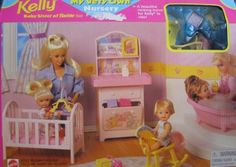 Barbie KELLY My Very Own Nursery Playset (1997 Arcotoys, Mattel) by Arcotoys, Mattel. $135.99