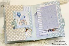 Scrapbooking by Chihan: Фотоальбом для малыша