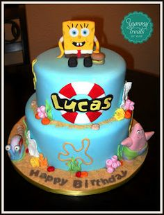 Yummy Treats By Yane: Spongebob Cake!