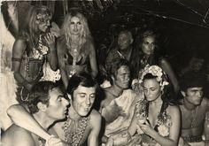 St. Tropez 1968 Gypsy party at Brigitte Bardot's