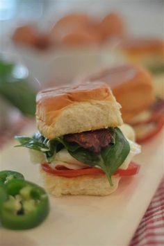 Basil, Bacon, Tomato Egg Sandwich with Jalapeno Mayo recipe