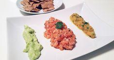 Recept na lososový tataráček s ananasovou a avokádovou salsou