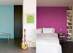 Color Feature Walls — Paint -- Better Living Through Design
