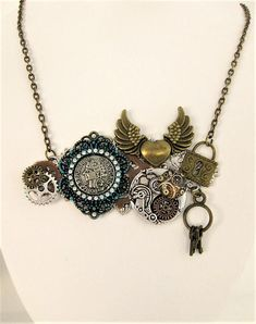 Wondering what is Steampunk? Visit our website for more information on the latest with photos and videos on Steampunk clothes, art, technology and more. Steampunk Bracelet, Jewelry, Bohemian Necklace, Steampunk Necklace, Steampunk Accessories, Bohemian Style Necklaces, Gothic Jewelry, Beautiful Jewelry, Bohemian Jewelry