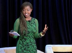 """""""I'm a woman and that translates everywhere."""" -Clemantine Wamariya, a fierce storyteller who became a refugee of the Rwandan genocide at age six."""