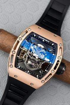 watchanish:  Richard Mille RM052 Tourbillon.More of our footage atWatchAnish.com.