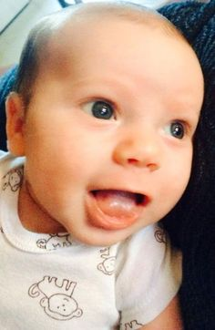 """""""This is my son Gunner Wayne. He was born on 14 January 2014. He passed away less than 18 hours after his 8 week old shots: - HIB (PEDVAXHIB) - PEDIARIX (DTAP-HEP B-IPV) - PREVNAR - ROTATEQ 3 The medical examiners can say """"SIDS"""" but I know the truth..."""""""