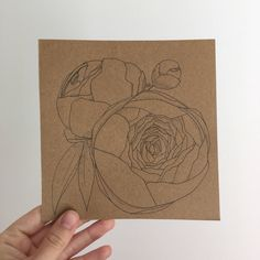 A personal favourite from my Etsy shop https://www.etsy.com/uk/listing/522963532/original-peony-sketch-drawing-of-peonies