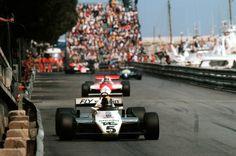 Derek Daly (Williams-Ford) Grand Prix de Monaco 1982 - Formula 1 HIGH RES photos (Old and New) Facebook.