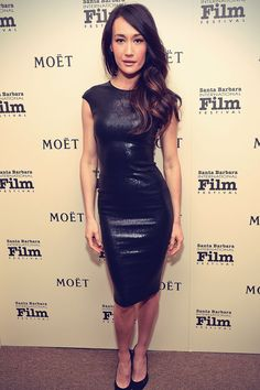 Maggie Q attends The Moet