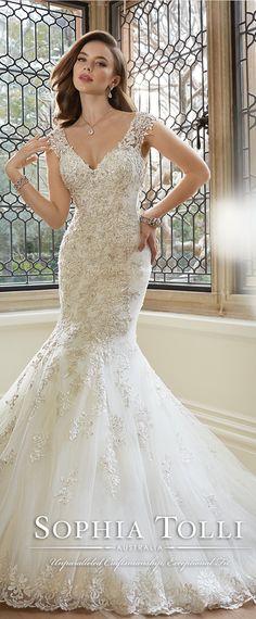 Sophia Tolli Spring 2016 Wedding Dress - Belle The Magazine