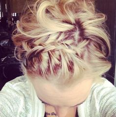 2014 Updo Hairstyles for Braid Bangs