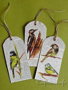Bird Bookmarks 1