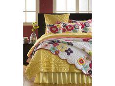 Katie Quilt   Sweet Peaches Bedding