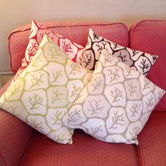 New Zoffany cushions.