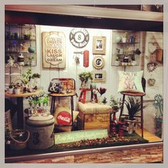 Our new window display, shop display @ Lavish Abode