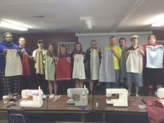 Bluefield College Students Sew Dresses for Needy Girls in Africa: http://www.bluefield.edu/article/students-sew-dresses-for-girls-in-africa/
