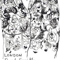 #tbt #illustration #illustratorsoninstagram #illustrationart #illustrators #botanical #botanicalart #botanicalillustration #inkstagram #fashion #paulsmith #inspiration #line #fashion #commission