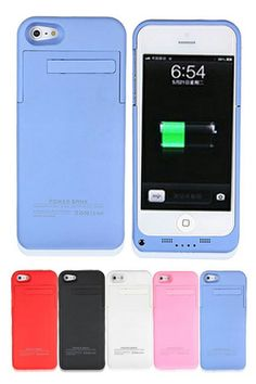 External Battery Backup Charging Case For iPhone 5