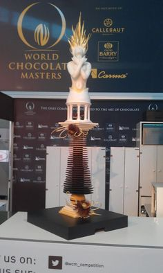 ADavide Comaschi's  chocolate pièce winner of the italian championship WCM 2013 and of the Mondial champioship on October WCM 2013.