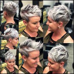 10 kurze Frisuren für Frauen über 40 - Pixie Haircuts Update #frauen #frisuren #haircuts #kurze #pixie #update