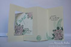 The Craft Spa - Stampin' Up! UK independent demonstrator : Timeless Elegance Pop Out Swing Card