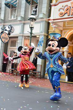 """[画像] 東京ディズニーリゾートで開園35周年を祝う""""Happiest Celebration!""""開幕。オープニングセレモニーでパーク拡張にも言及 (14/19) - トラベル Watch"""