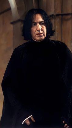 Harry Potter Severus Snape, Severus Rogue, Alan Rickman, Half Blood, Cute Characters, Rogues, Dresses, Dreams, Happiness