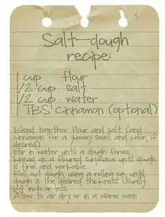 Salt dough mix                                                                                                                                                                                 More