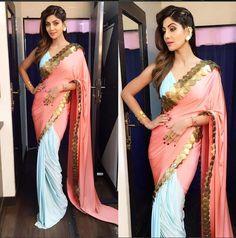 Shilpa Shetty In A Beautiful Saree