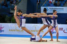 Rythmic Gymnastics group