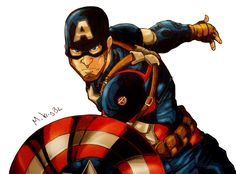Captain America by MikeES on DeviantArt