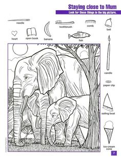 printable for kids preschool Hidden Object Puzzles, Hidden Picture Puzzles, Hidden Objects, Find Objects, Colouring Pages, Coloring Books, Math Gs, Highlights Hidden Pictures, Hidden Pictures Printables