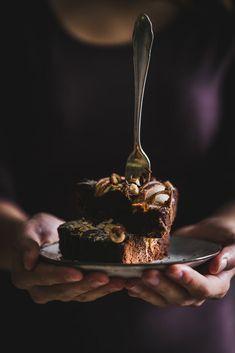 Hruškový koláč s čokoládou / Pear cake with chocolate Pear Cake, Sweet Life, Cheesecake, Chocolate Cakes, Tarts, Fit, Morning Breakfast, Recipes, Mince Pies