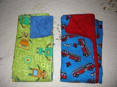 Sewing: Simple baby blankets