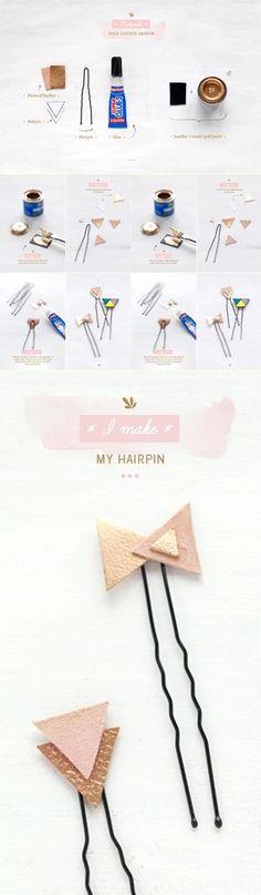 Pretty hairpins - DIY Stuff