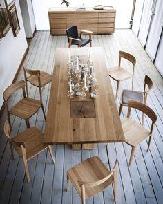 Coleção Mesa Boss executive da marca italiana Riva1920 no catálogo de produtos da QuartoSala - Home Culture #riva1920 #design #mesas #tables #dinningroom #wood #madeira #projetos #lojas #lisboa #lisbon #lisbonne #showroom #instadesign #interiores #inspiration #quartosala