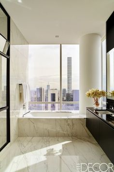890 best Amazing Bathrooms images on Pinterest in 2018 House Tour  Michael Bloomberg s Favorite Designer Gives a Central Park  Apartment Some Edge