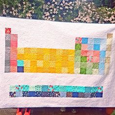Periodic table quilt by hydrogenhippies etsy shop quilty periodic table quilt by hydrogenhippies etsy shop quilty goodness pinterest etsy crafty and crafty craft urtaz Gallery