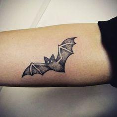 starry night bat tattoo tattoos body art pinterest bats rh pinterest com cute bat tattoo designs Cute Cartoon Bats