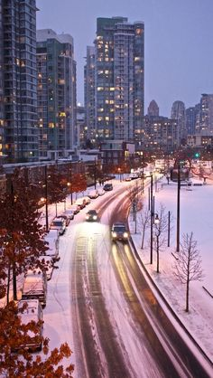 Vancouver in the Winter
