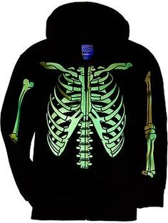 Boys Glow-in-the-Dark Skeleton Hoodies | Old Navy